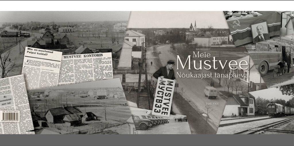 Ilmus uus Mustvee ajaloo raamat ja seda on võimalik osta Mustvee Raamatukogust.